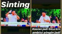 Unggahan istri Andre Taulany, Erin Taulany yang dianggap hina Prabowo. (Suara.com)