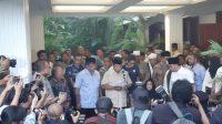 Prabowo dan Sandiaga di Jalan Kertanegara. (Ist)