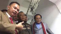 Penyidik Direktorat Reserse Kriminal Umum Polda Metro Jaya telah mengabulkan permohonan penangguhan penahanan tersangka kasus dugaan makar Eggi Sudjana. (Suara.com/Yosea Arga)