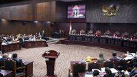 Suasana sidang perdana sengketa Pilpres 2019 di Mahkamah Konstitusi, Jumat (14/6/2019). (Ist)
