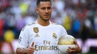 Eden Hazard diperkenalkan secara resmi sebagai pemain anyar Real Madrid. (Ist)
