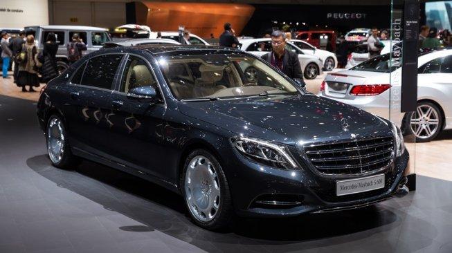 Mercedes-Benz S600 Guard. [Shutterstock]