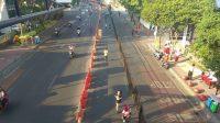 Suasana Marathon Surabaya 2019. [Suara.com/Dhimas Angga P]
