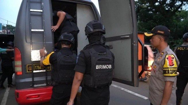 ilustrasi penangkapan terduga teroris