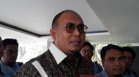 Anggota Badan Komunikasi DPP Partai Gerindra, Andre Rosiade. (Suara.com/Ummi Saleh)