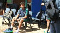 Luis Milla Aspas ketika melatih timnas Indonesia [Suara.com/Adie Prasetyo]