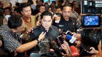 Menteri BUMN Erick Thohir. (Suara.com/Achmad Fauzi)