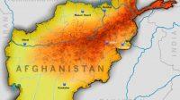Peta Afghanistan (Shutterstock).