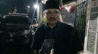 Politikus Partai Demokrat Ferdinand Hutahaean di Puri Cikeas, Bogor. (Suara.com/Rambiga)