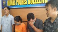 Dua tersangka honorer di Bali ditangkap Polres Buleleng karena melakukan aktivitas wikwik threesome. [Berita Bali]