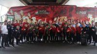 Suasana pelepasan skuat Timnas Indonesia U-23 ke ajang SEA Games 2019 di Filipina. (Dok. PSSI)