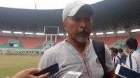 Pelatih Timnas Indonesia U-19, Fakhri Husaini. [Suara.com/Adie Prasetyo Nugraha]