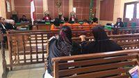 Sidang pembacaan tuntutan Muslim SMB di pengadilan. Foto: Yogi/Jambiseru.com