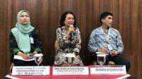 Kemenkes RI sampaikan update virus Corona di Indonesia. (Suara.com/Risna Halidi)