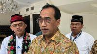 Menteri Perhubungan Budi Karya Sumadi. (Suara.com/Ria Rizki)