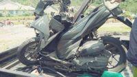 Motor yang terlibat kecelakaan
