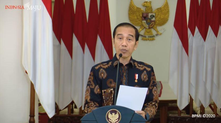 Pidato Presiden RI Jokowi terkait psbb corona