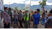 Ratusan Massa Desa Jernih Jaya Segel Kantor Kades Zalfinur Kecamatan Gunung Tujuh (doc/ist)