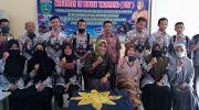 Foto bersama guru SMKN 5 Tebo usai acara IHT. Foto: Rian/Jambiseru.com