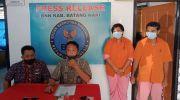 Dua pasutri yang berhasil diamankan BNNK Batanghari. Foto: Rizki/Jambiseru.com