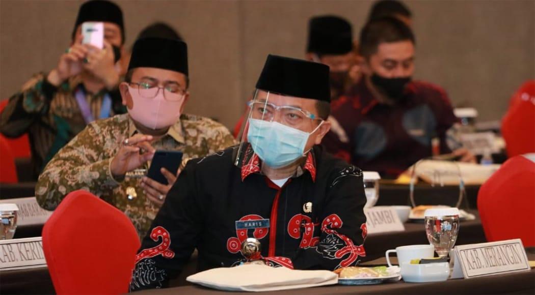 Bupati Merangin, H Al Haris. Foto: Edo/Jambiseru.com