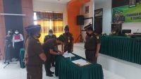 Rotasi jabatan di lingkungan Kejaksaan Negeri (Kejari) Batanghari. Foto: Rizki/Jambiseru