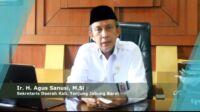 Sekda Tanjung Jabung Barat, Ir. H. Agus Sanusi, M.Si. Foto: Jambiseru.com