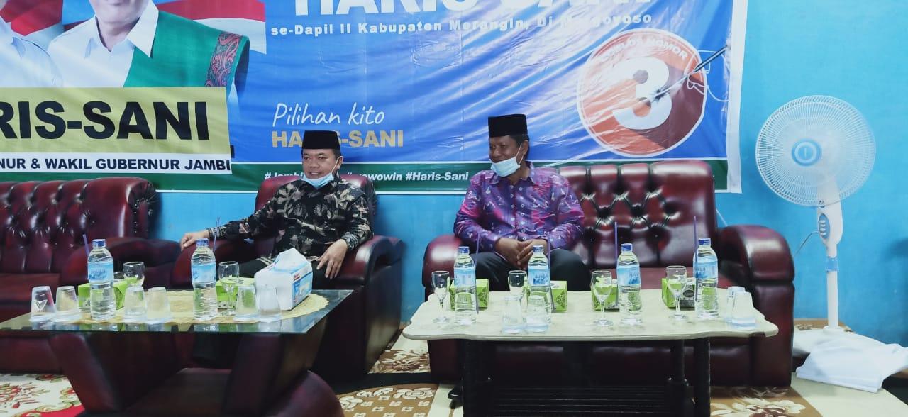 Calon Gubernur Jambi, Al Haris bersama Nalim. Foto: Jambiseru.com