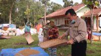 Calon gubernur Jambi, Al Haris saat Singgah dan Nampi Beras di Betung Bedarah. Foto: Jambiseru.com