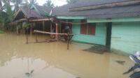 banjir mulai surut di tabir