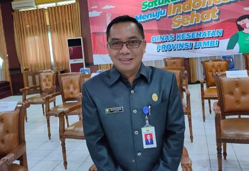 Plt Kepala Dinas Kesehatan Provinsi Jambi Raflizar. Foto: Jambiseru.com