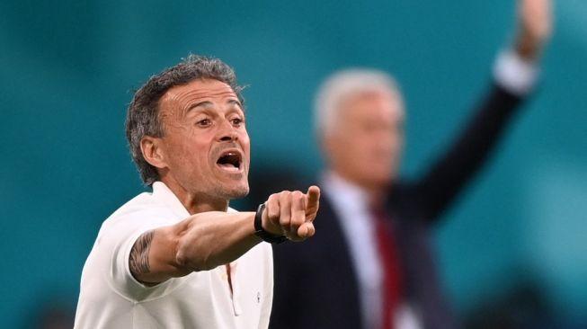 Laga Italia vs Spanyol