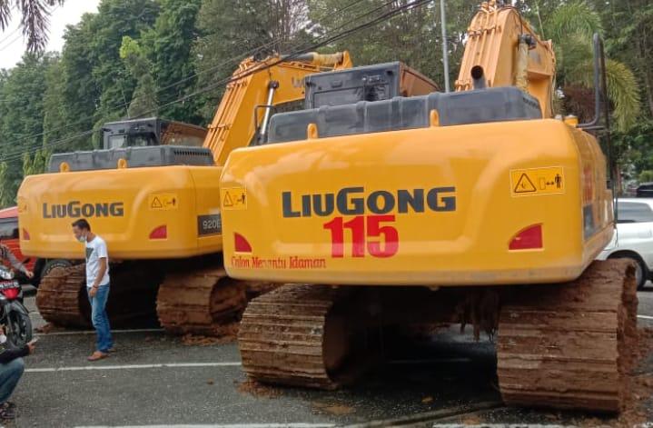 Pemilik Dua Excavator PETI di Merangin