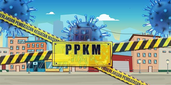 PPKM Level 4 di Batanghari