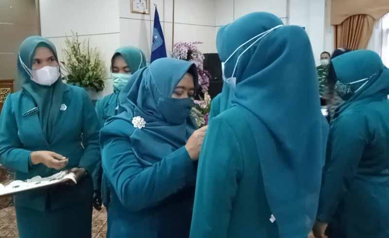 Hj Nurhaida Lantik Ketua TP PKK