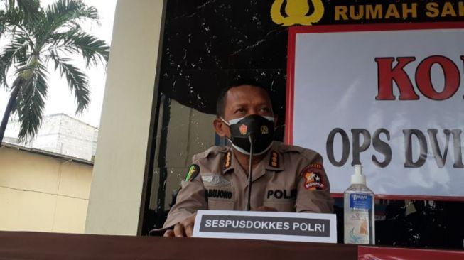 Identifikasi Korban Lapas Tangerang