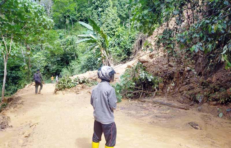 Jalan Bangko - Kerinci Lumpuh
