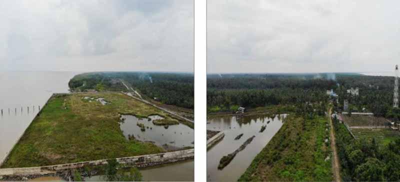 Landscape Pelabuhan Ujung Jabung Jambi