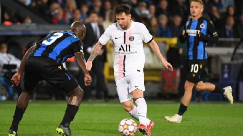 PSG Main Cuma Imbang Lawan Brugge