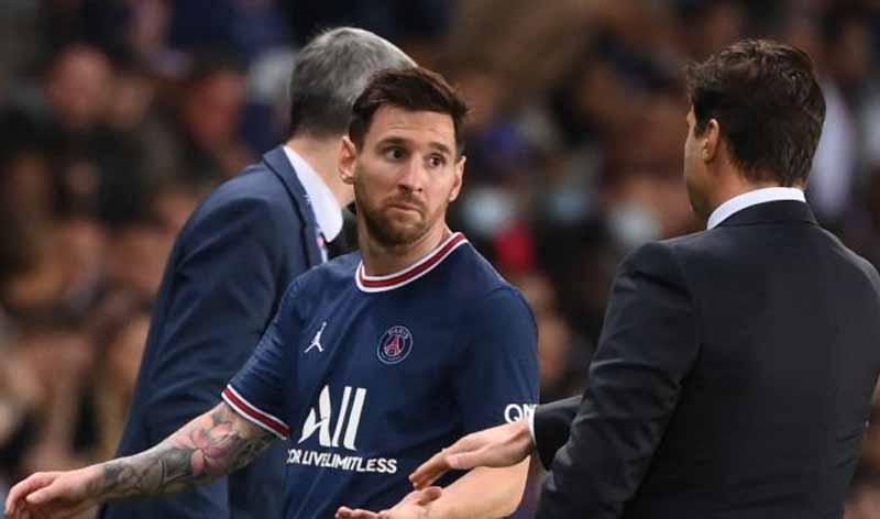 Lionel Messi Sewot saat Diganti