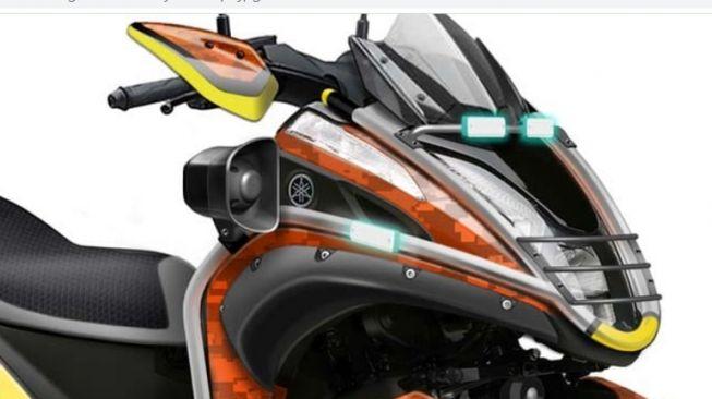 Yamaha Perkenalkan Motor Tiga Roda