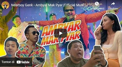 lirik lagu Ambyar Mak Pyar