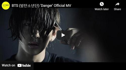 lirik lagu Danger