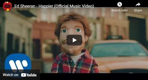 lirik lagu Happier