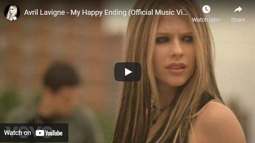 lirik lagu My Happy Ending