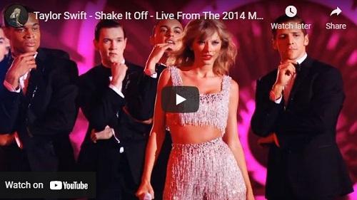 lirik lagu Shake It Off