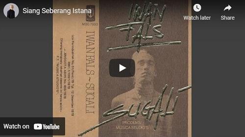 lirik lagu Siang Seberang Istana