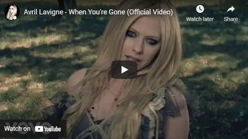 lirik lagu When You're Gone